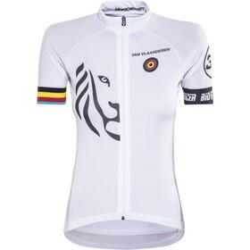 Bioracer Van Vlaanderen Pro Race Kortärmad cykeltröja Dam vit